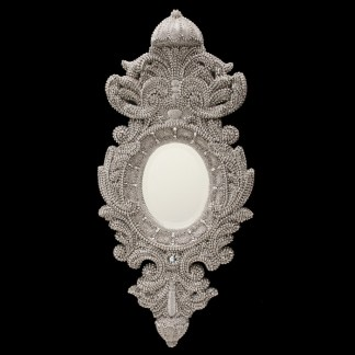 M-527 BB Simon Swarovski Framed Mirror