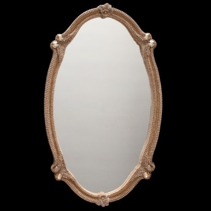 M-535-GOLD BB Simon Shimmering Oval Mirror