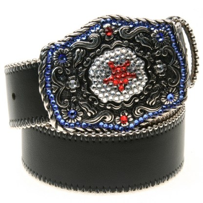 Tut RED WHITE & BLUE B.B.SIMON BELT