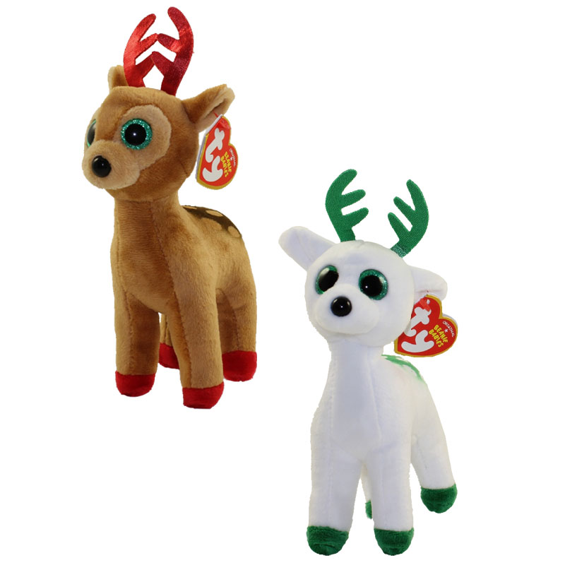 TY Beanie Babies CHRISTMAS 2017 Releases SET Of 2