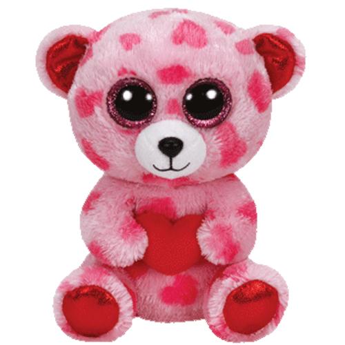 TY Beanie Boos SWEETIKINS The Bear Glitter Eyes