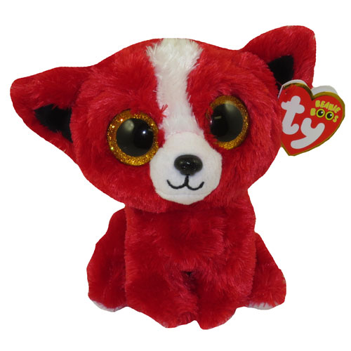 TY Beanie Boos TOMATO The Red Dog Glitter Eyes