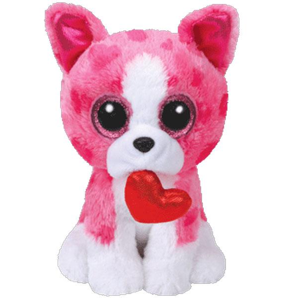 TY Beanie Boos ROMEO The Dog Glitter Eyes Medium Size