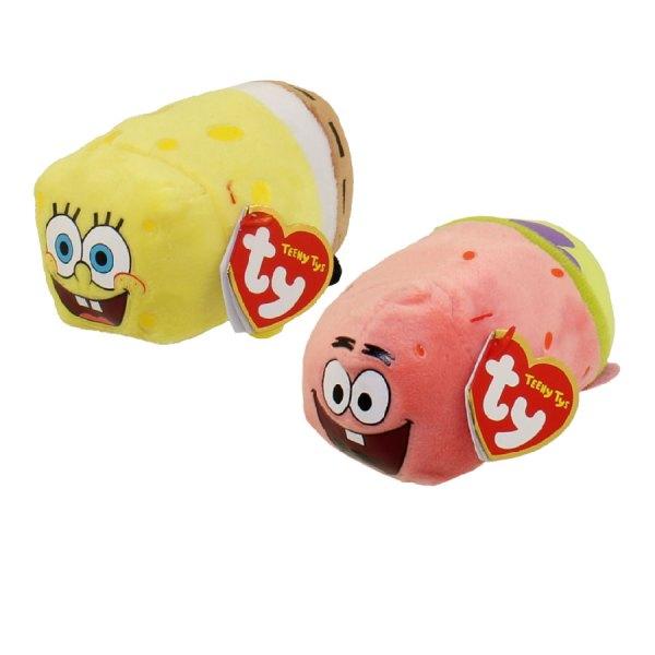Ty Beanie Boos - Teeny Tys Stackable Plush Spongebob Squarepants Set Of 2