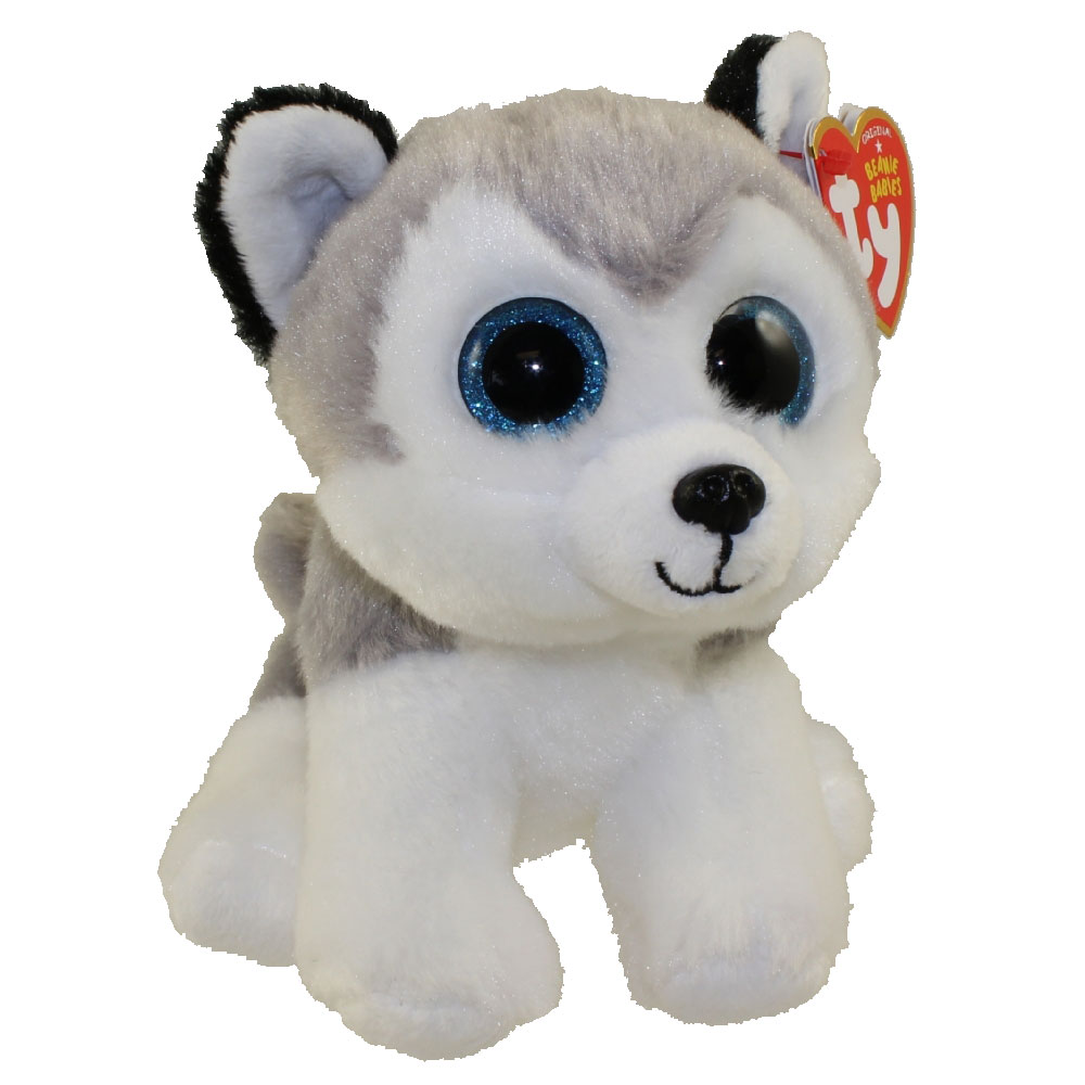 TY Beanie Baby BUFF The Husky Dog 6 Inch BBToyStore
