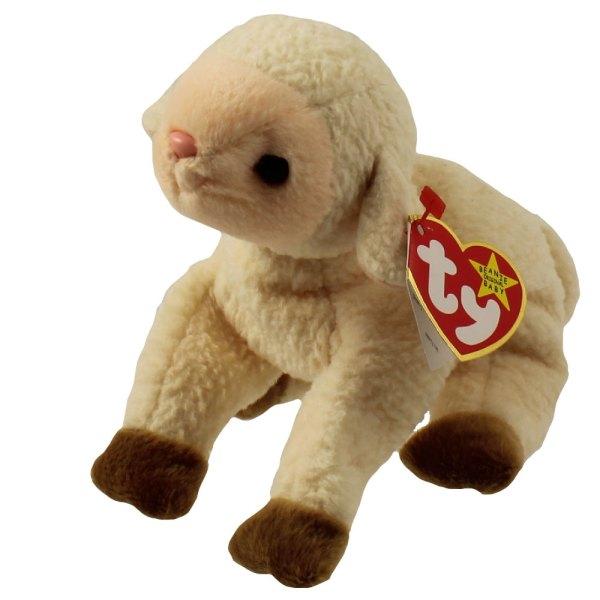 Ty Beanie Baby - Ewey Lamb 5.5 Toys Plush Trading Cards Action