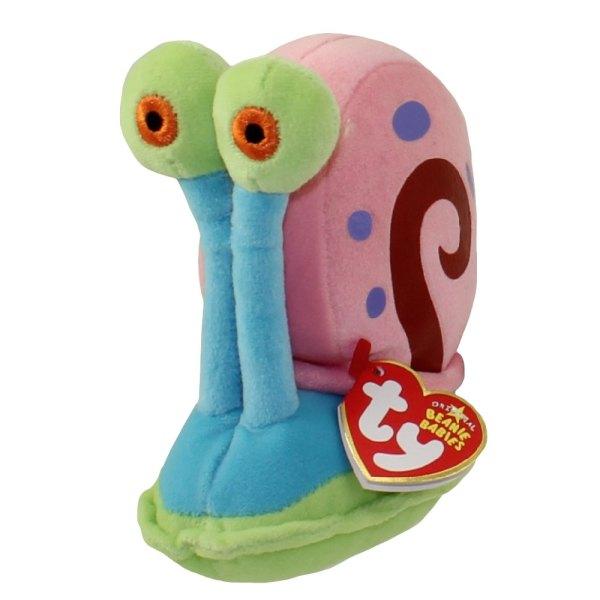 Ty Beanie Baby - Gary Spongebob Squarepants 5 Stuffed Animal Toy