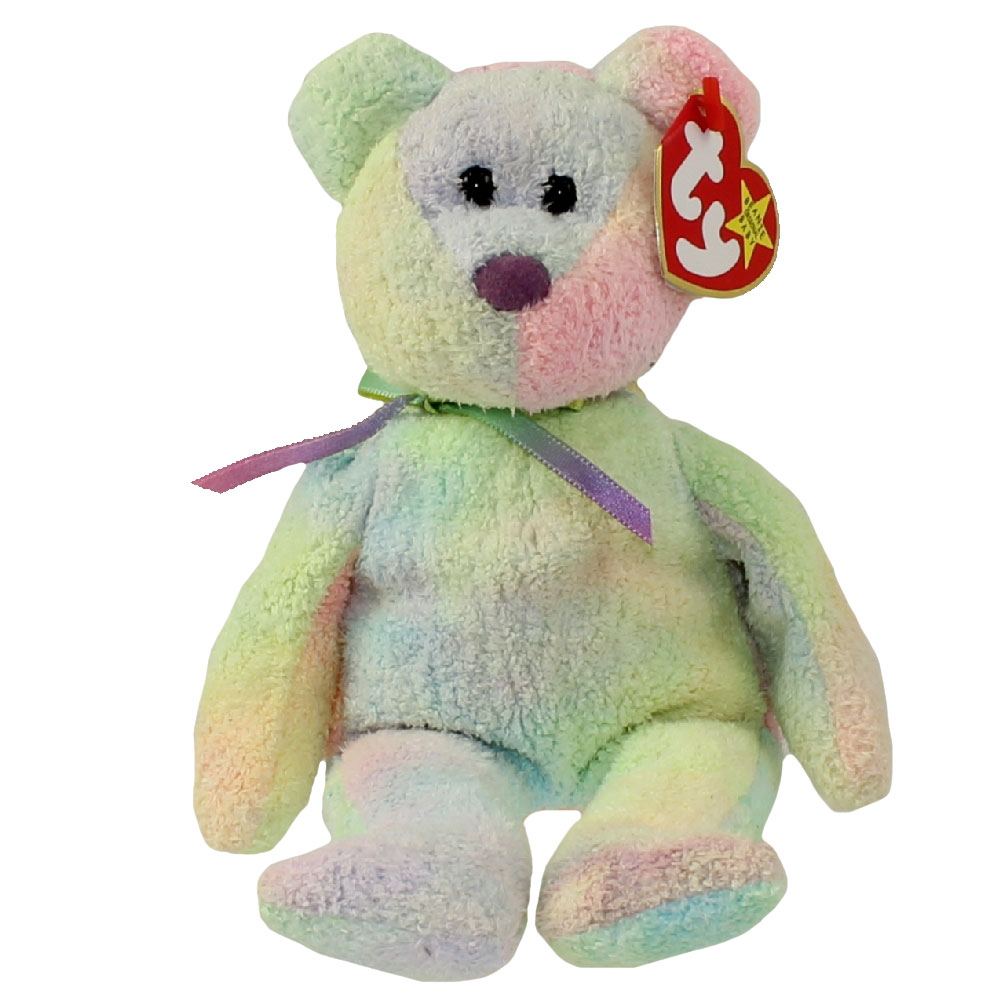 TY Beanie Baby GROOVY The Ty Dyed Bear 85 Inch