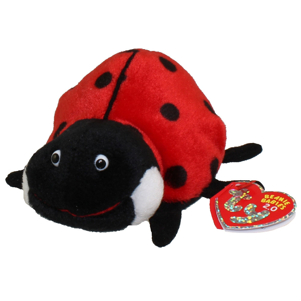 ty beanie baby 2 0 maiden the ladybug 5 inch bbtoystore com