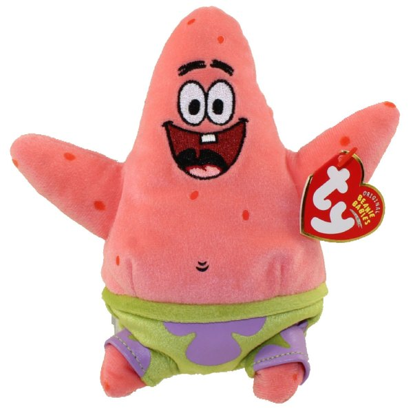 Ty Beanie Babies - Sponge Bob & Friends 7
