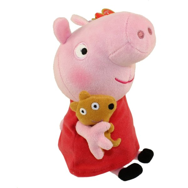 Ty Beanie Baby - Peppa Pig U. Version 6