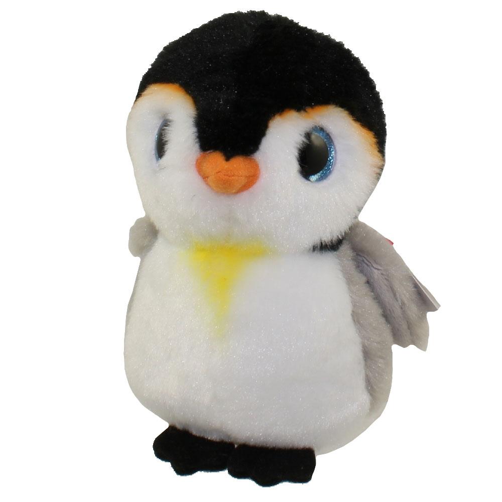TY Beanie Baby PONGO The Penguin 6 Inch BBToyStore