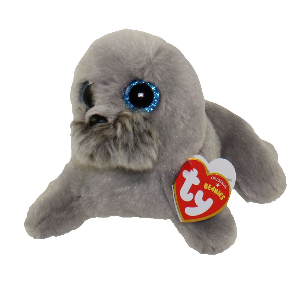 TY Beanie Baby WIGGY The Seal 6 Inch