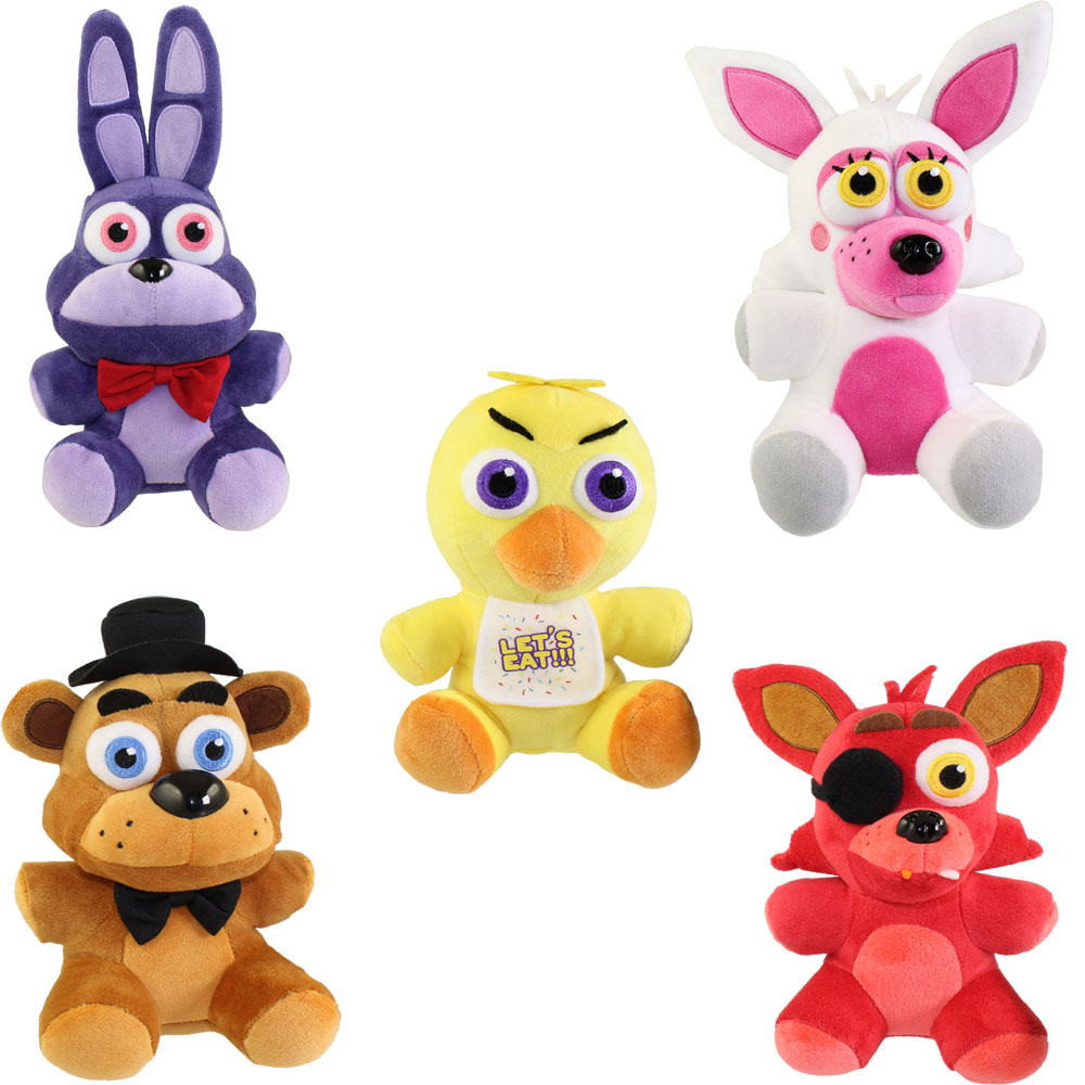 Funko Collectible Plush Five Nights At Freddys SET OF