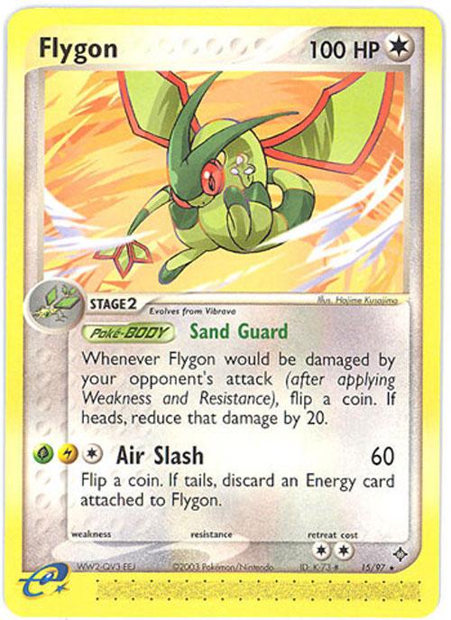 Pokemon Card  Dragon 1597  FLYGON rare BBToyStore