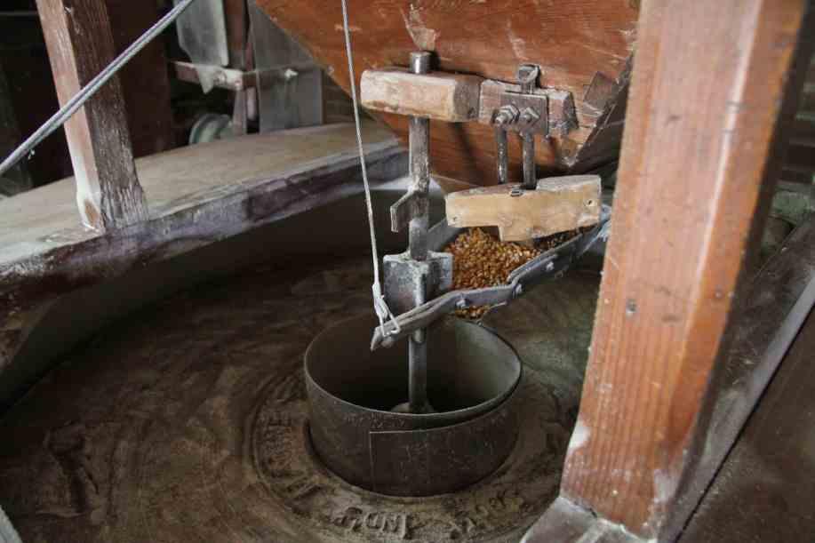 Macinatura del grano di bedizzole per la farina del garda