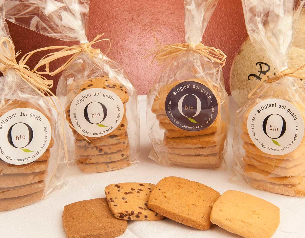 biscotti Shortbread italiani biologici
