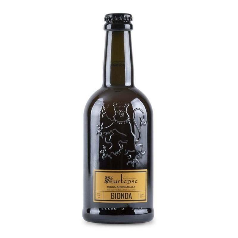 Birra bionda artigianale birrificio Curtense