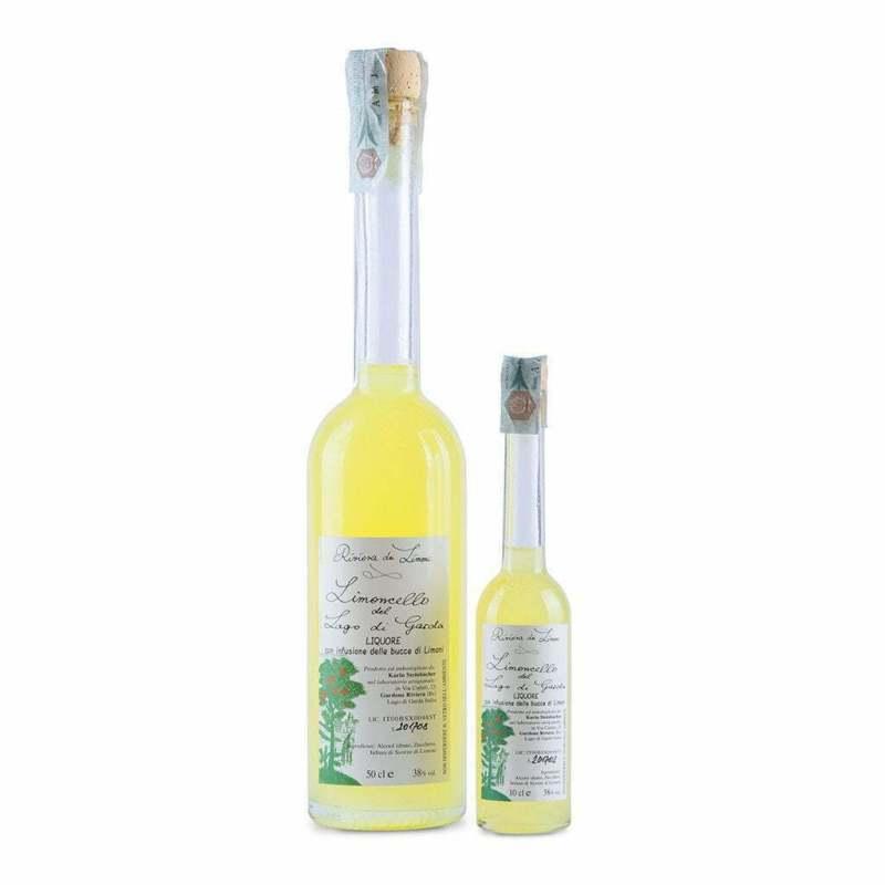 Bottiglia di Limoncello del lago di Garda