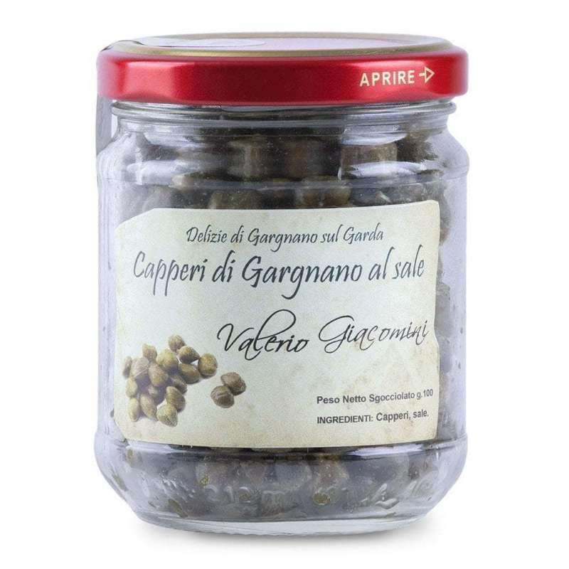 Capperi di Gargnano al sale Valerio Giacomini