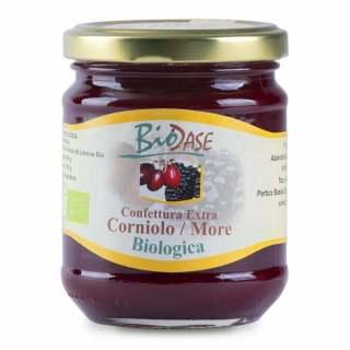 Confettura marmellata di Corniolo e More biologica BioDase