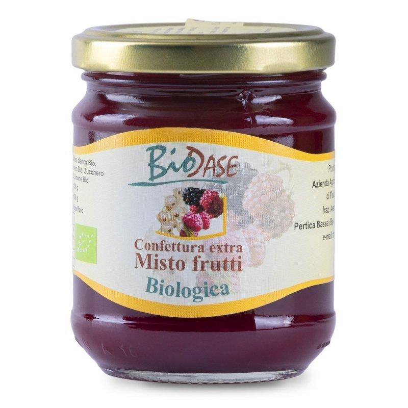 Confettura marmellata di misto frutti biologica BioDase