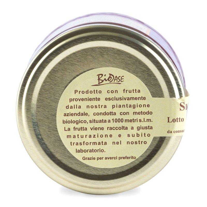 etichetta marmellata biodase