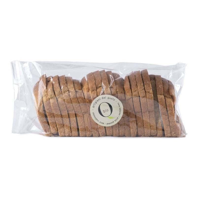 Fette biscottate artigianali Qbio