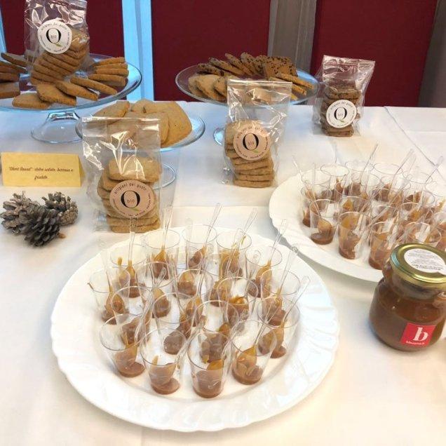 Mousse di mou e dolci artigianali per banqueting cristal resort