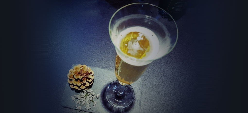"""Cocktail champagne """"Madre Natura"""""""