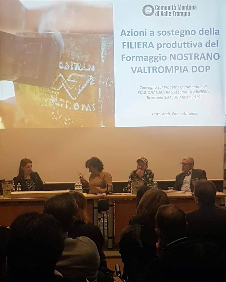 conferenza al forno fusorio della Valtrompia