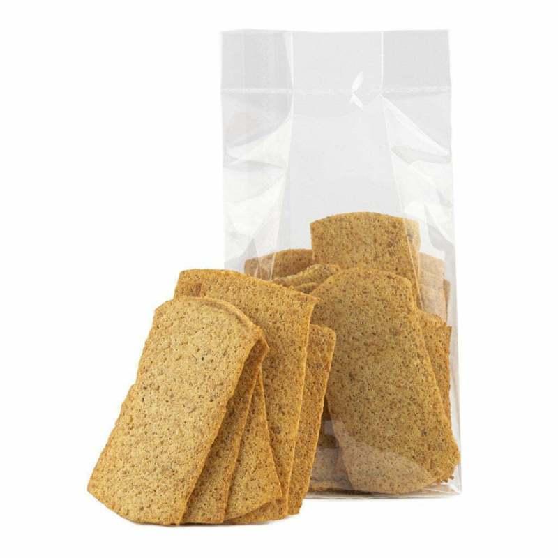 Merenda cracker naturale e artigianale senza lattosio