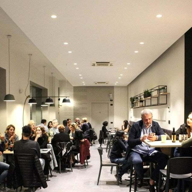 Serata per cena nel locale di diametrodiciotto a Brescia