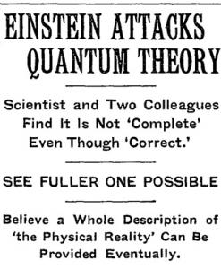 Einstein's Love-Hate Relationship with Quantum Physics