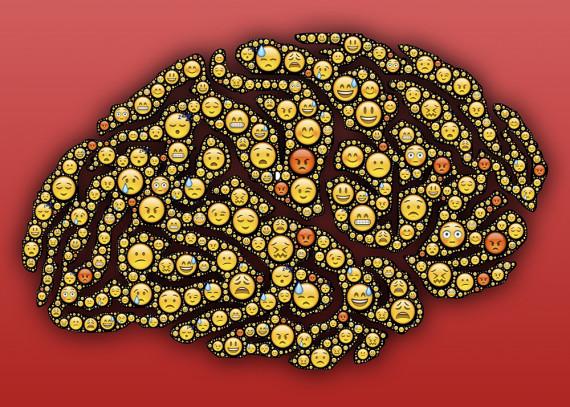 Los emojis comunican matices de humor y emociones entre personas que no pueden verse. Crédito: John Hain