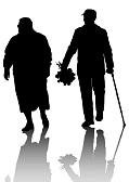 een-ouder-echtpaar-wandelen