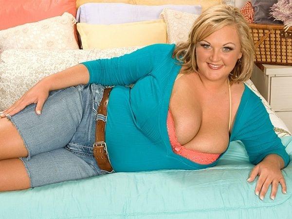 BBW Anna Kay tits sex