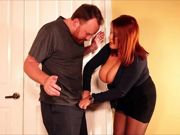 BBW Cuckold Annabelle Rogers porn domination