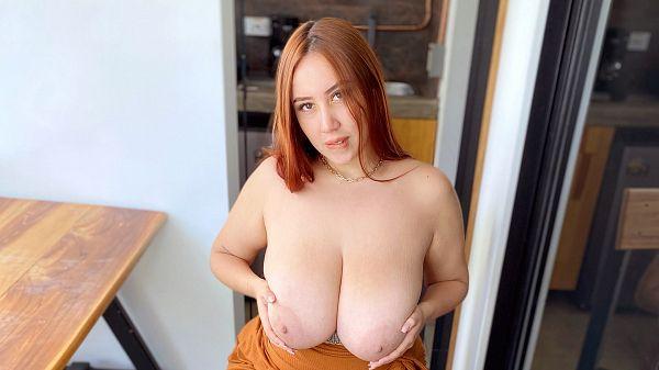 BBW Mer first video big tits black dildo porn