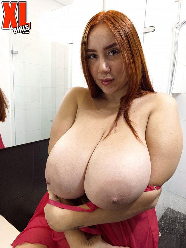 BBW Mer giant natural tits XXX