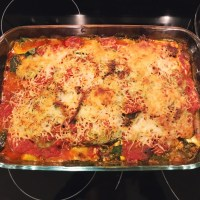 Zucchini Lasagna for the Vegetarian and Carnivore