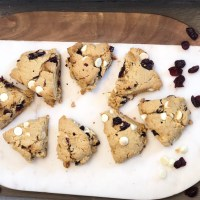 Protein Cranberry Orange Scones