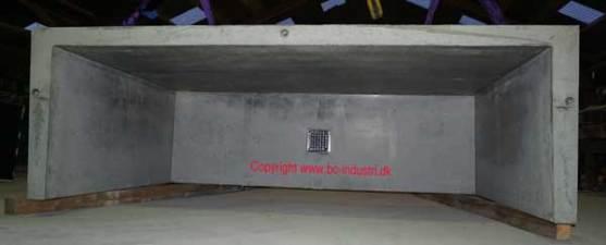 Præfab. betonlyskasse