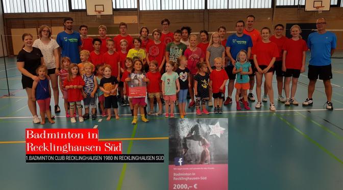 "Sparkassen Spenden Übergabe ""All for Vest Future 7"""
