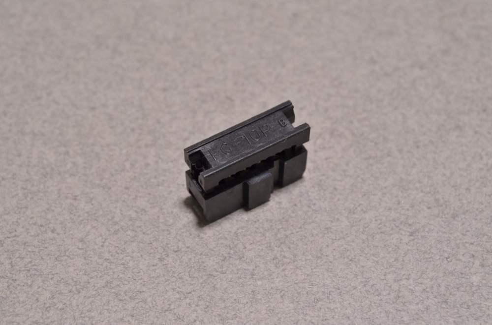 medium resolution of 10 pin ribbon crimp connector 2x5 pin