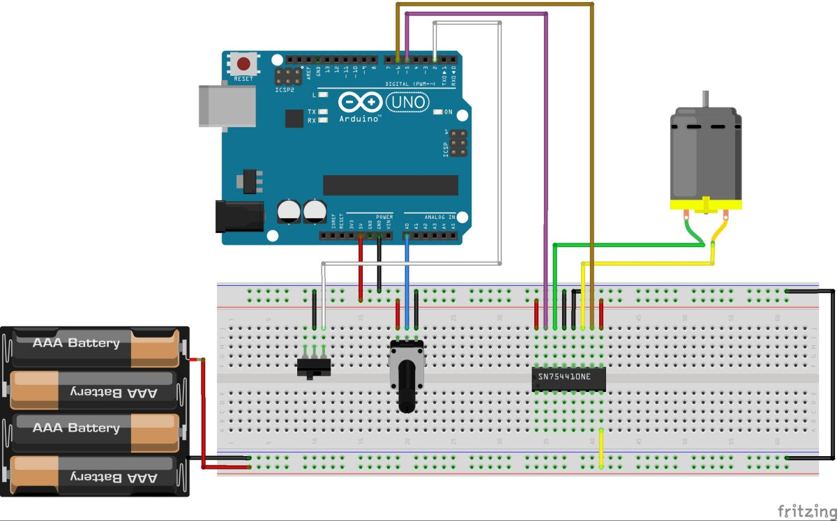 hight resolution of controlling a dc motor with arduino bc robotics wiring 3 way light switch diagram motor control with arduino