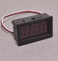 panel mount volt meter red 0 30v  [ 1200 x 795 Pixel ]