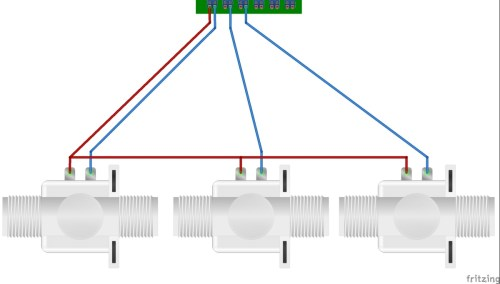 small resolution of if you have a single common power wire commercially installed irrigation systems connect the common wire to s1 s pin now connect each of the return