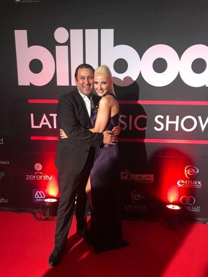 Con Germán Gonzálex, presidente de Emax Entertainment.
