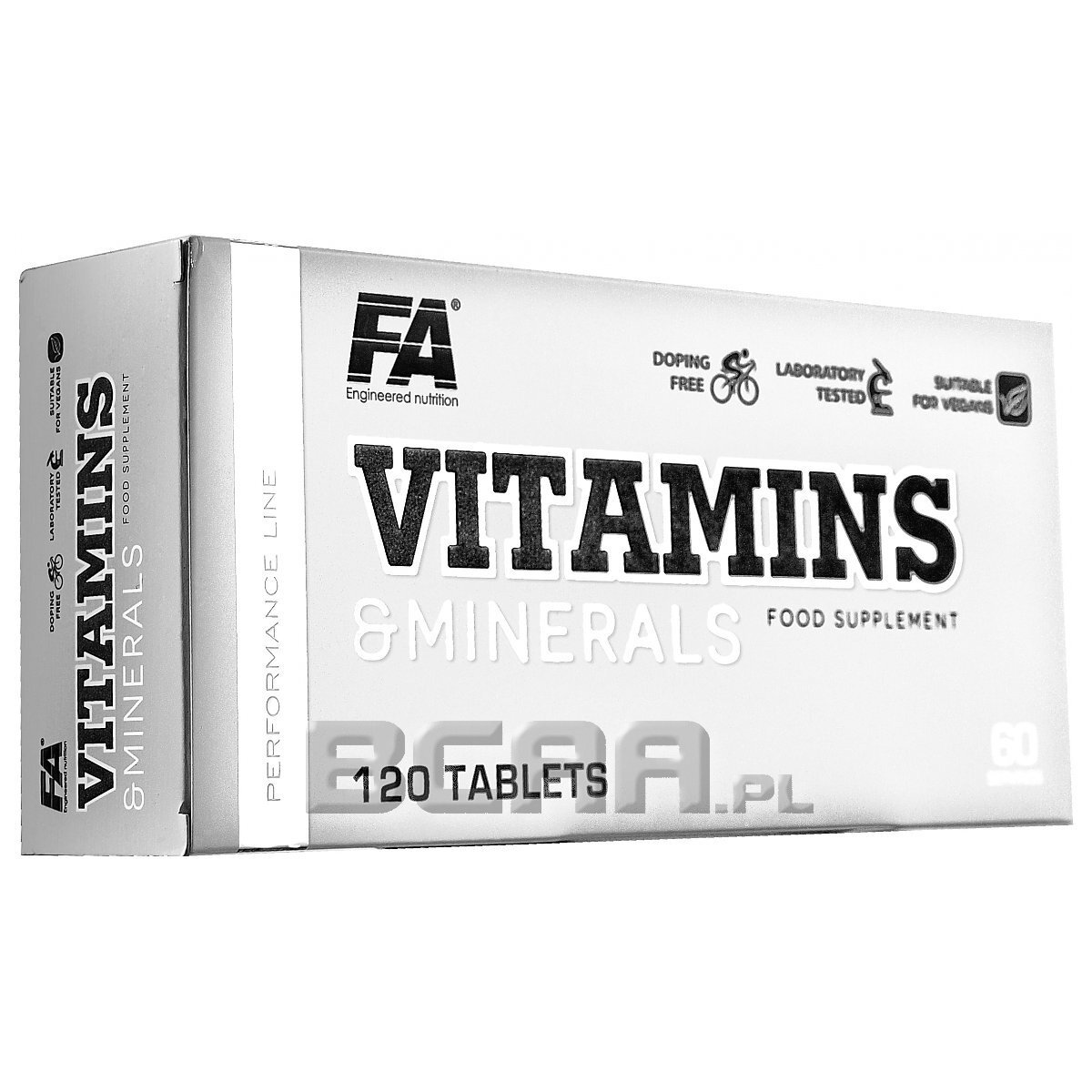 Vitamins Amp Minerals Fitness Authority 120tab Sklep Bcaa